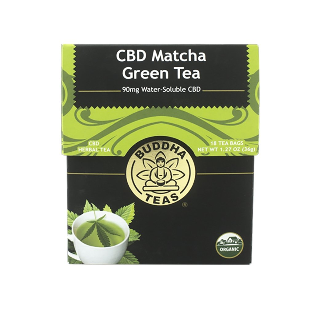 Organic CBD Matcha Green Tea - The Hemp Dispense