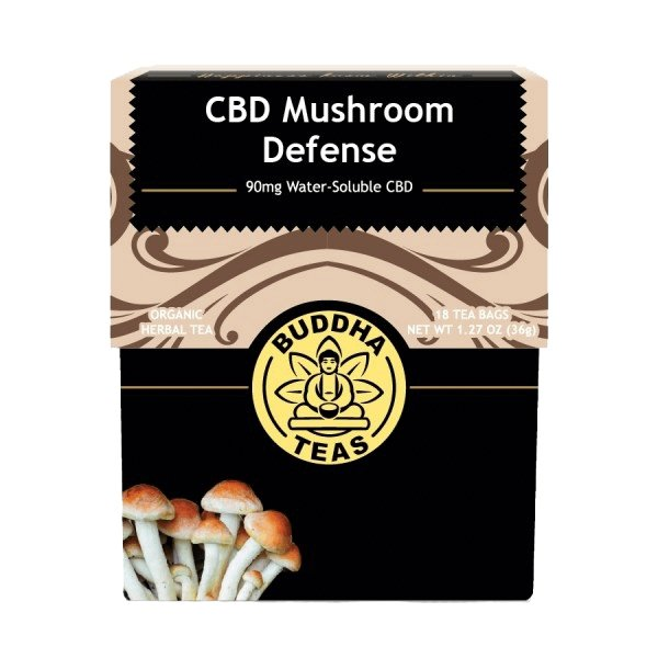 Organic CBD Mushroom Defense Tea - The Hemp Dispense