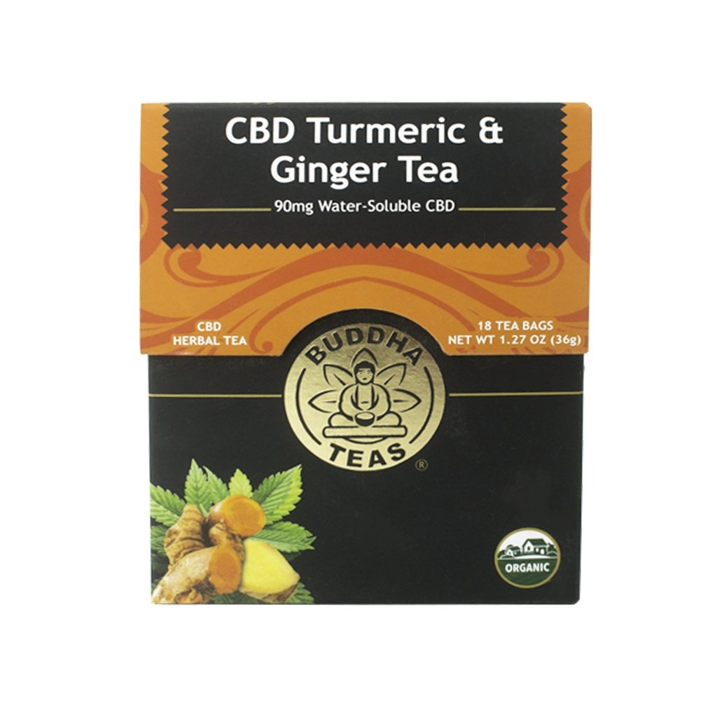 Organic CBD Turmeric & Ginger Tea - The Hemp Dispense