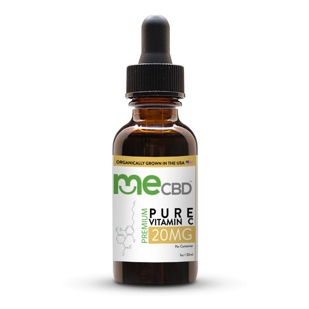 Pure Vitamin C Serum with CBD - The Hemp Dispense