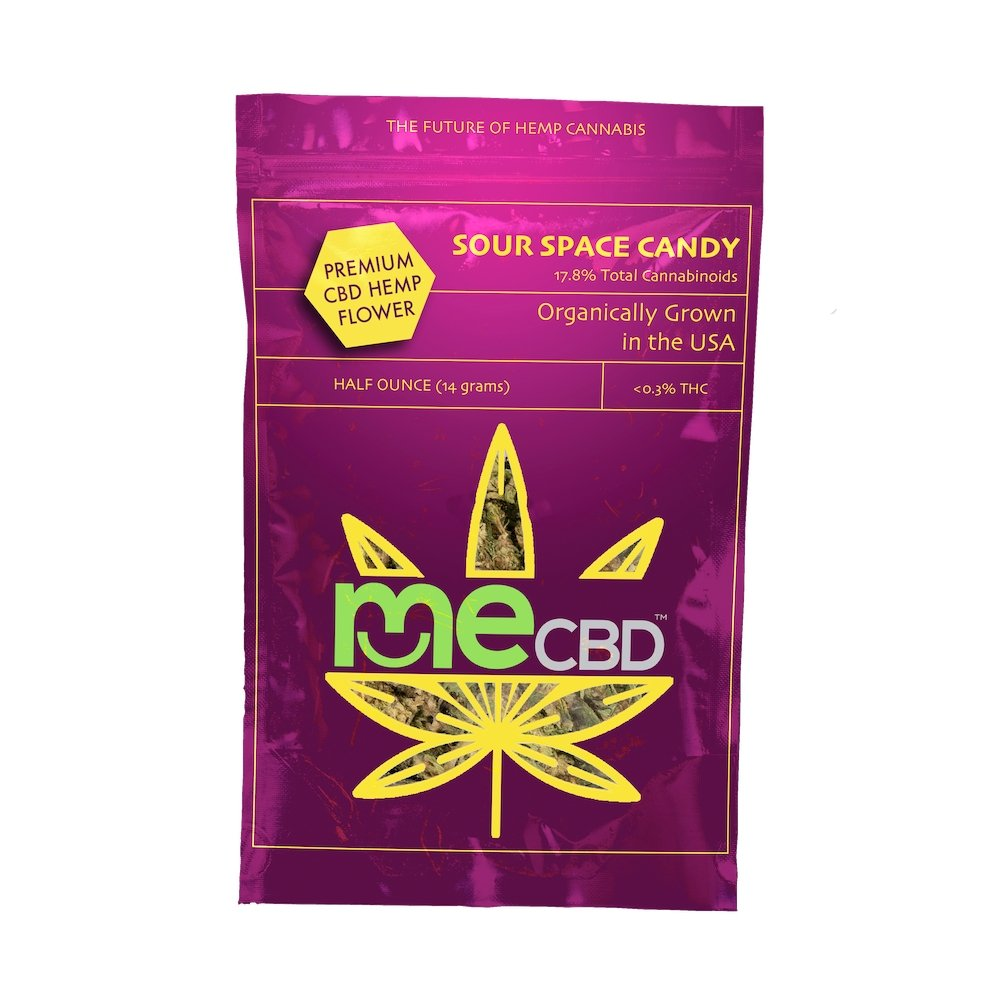 Sour Space Candy CBD Hemp Flower - The Hemp Dispense