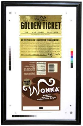 Charlie & the Chocolate Factory Golden Ticket