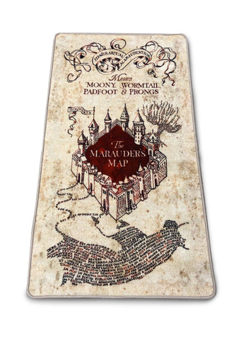Marauders Map Rug