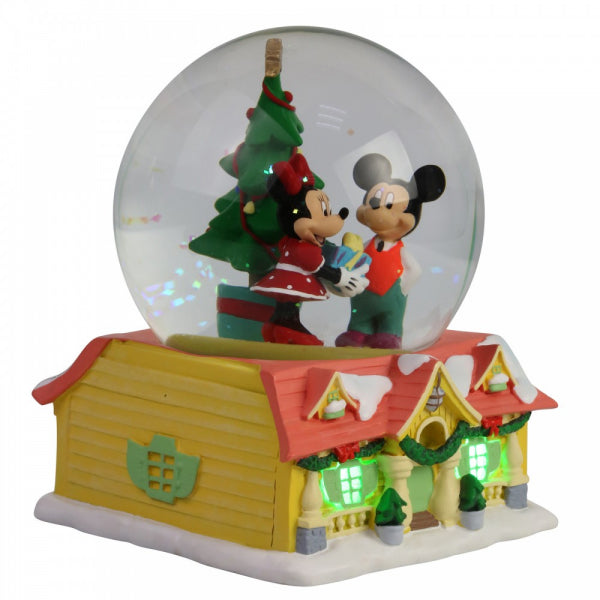 Mickey & Minnie Mouse Disney Snowglobe