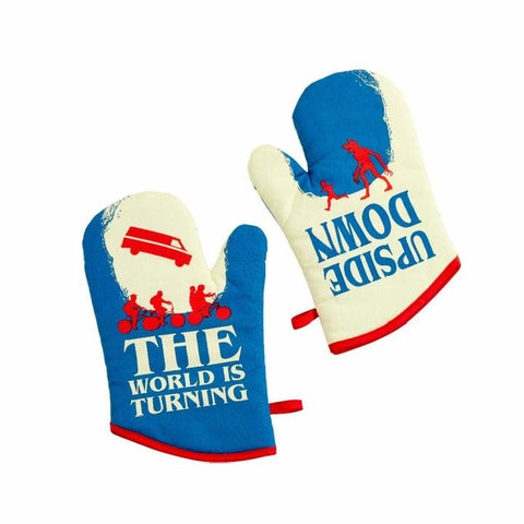 Stranger Things Oven Gloves