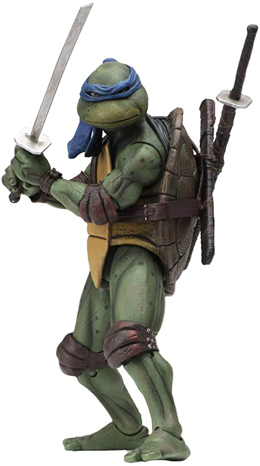 NECA Leonardo 1990 Turtles Figure