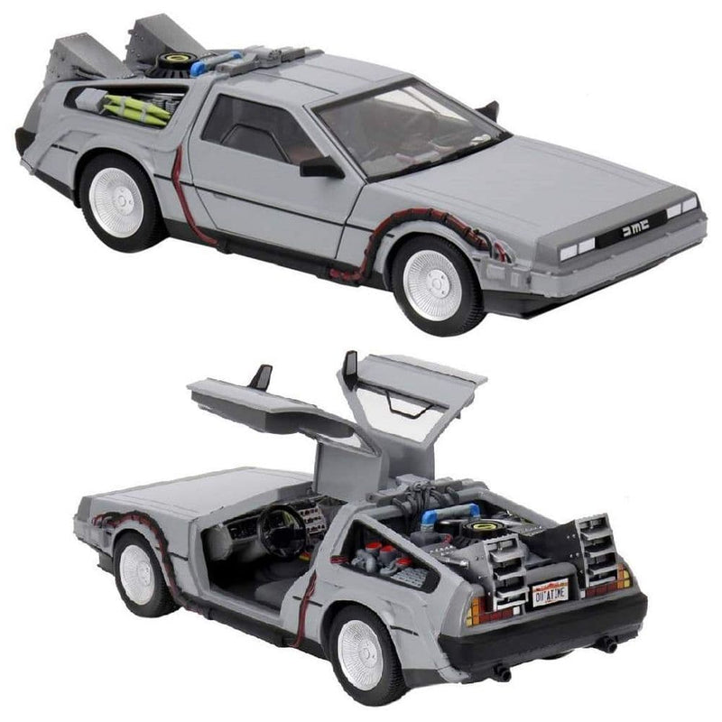 NECA Back to the Future DeLorean vehicle