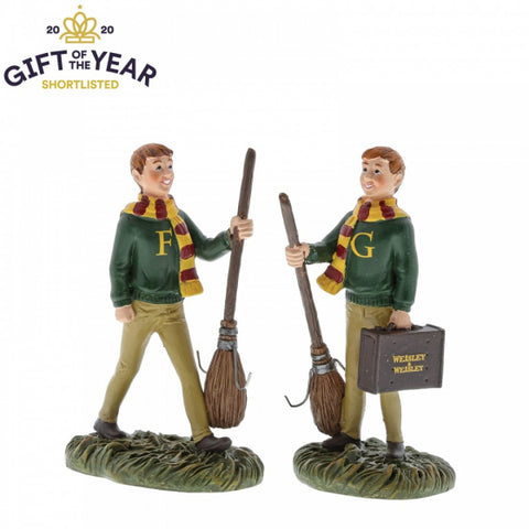 Fred and George Weasley Statue