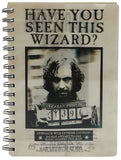 Sirius Black 3D note book
