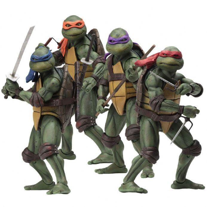 NECA Teenage Mutant Ninja Turtles Figures