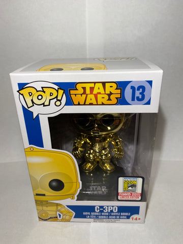 C-3PO SDCC Metallic POP