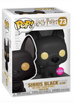 Sirius Black Dog Flocked