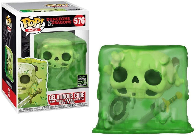 Dungeons & Dragons Gelatinous ECCC Pop