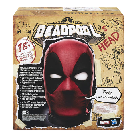 Deadpool interactive Head