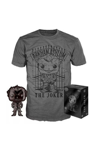 Joker exclusive Funko POP and Tee