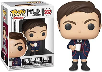 Umbrella Academy Five Funko POP