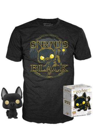 Flocked Sirius Black POP
