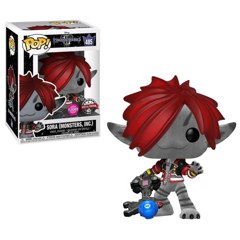 Exclusive Flocked Sora Funko POP