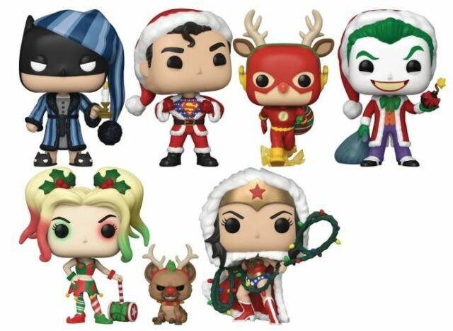 DC Holiday Christmas POP Figures UK