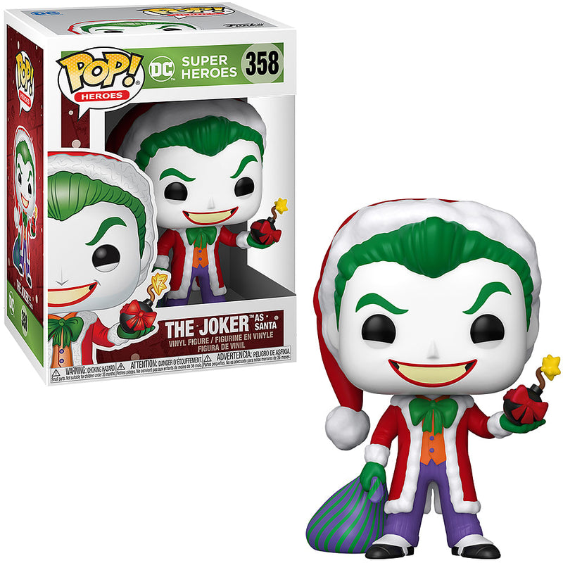 Joker as Santa Funko POP
