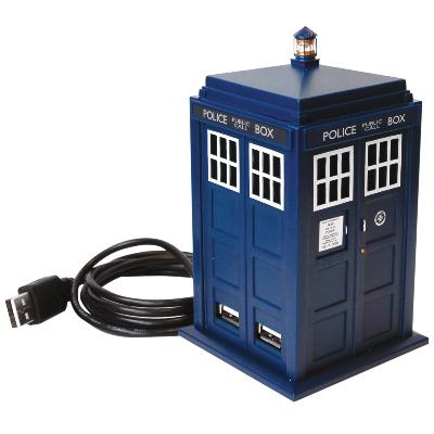 Doctor who Tardis USB port