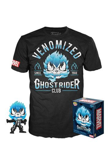 Blue Venom Ghost Rider POP & Tee