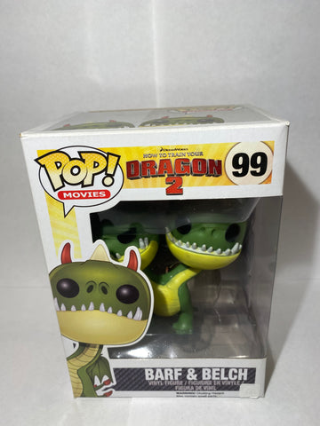 How to Train A Dragon Barf & Belch Funko POP