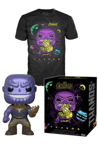 Metallic Exclusive Thanos POP Tee Box