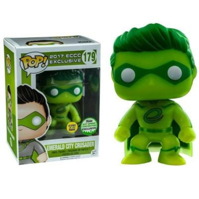 ECCC Emerald Crusader exclusive Funko POP