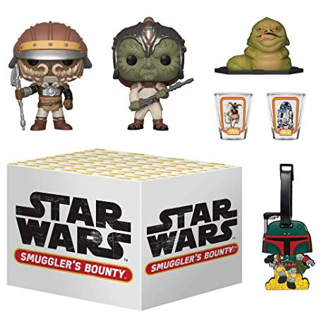 Star Wars smugglers bounty box