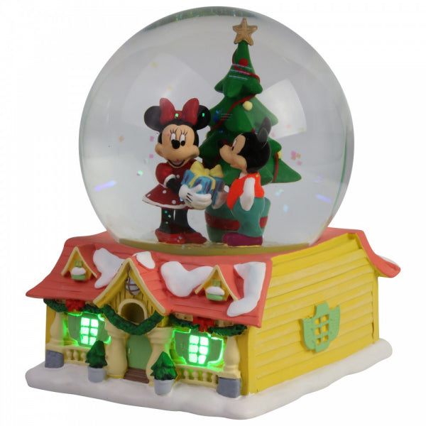 Disney Christmas snow globe