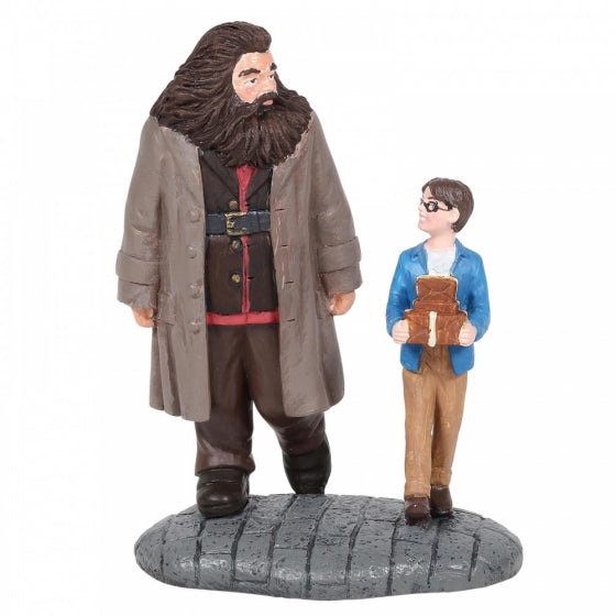Harry Potter & Hagrid Statue