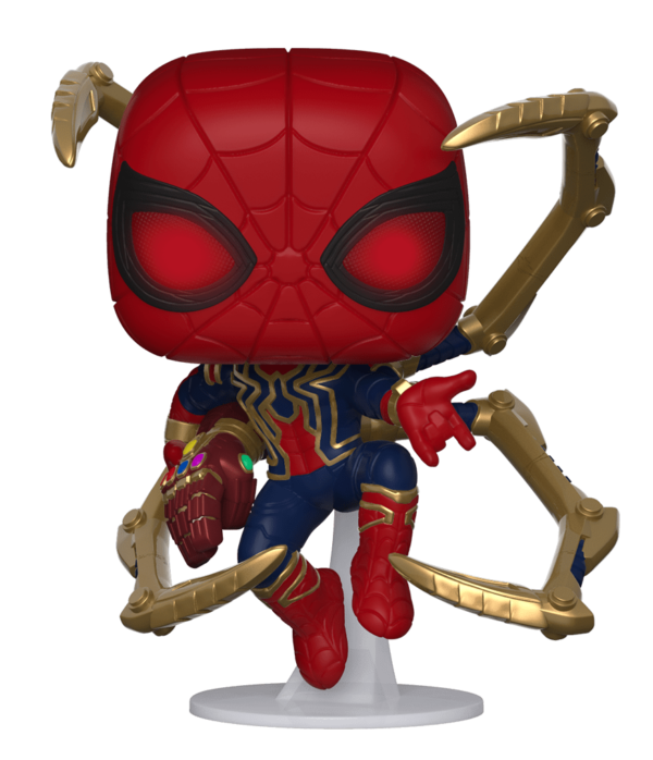 Marvel SpiderMan Iron Spider Gauntlet POP