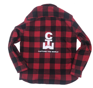 red mens flannel