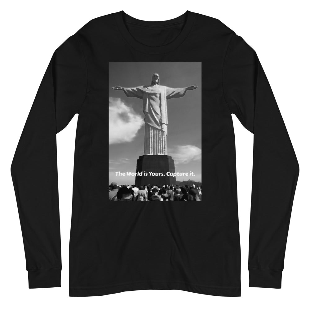"Black Jesus Peace"" Long Sleeve Tee"