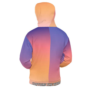 "back of CTW ""Sunset"" Unisex Hoodie"