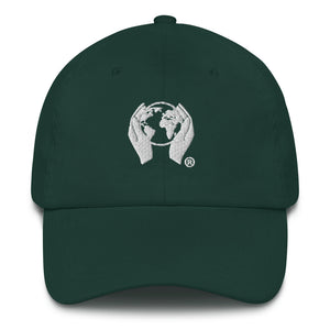 forrest green ctw logo dad hat