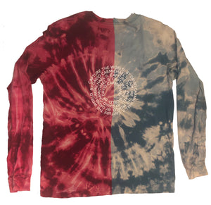 "CTW Two Toned ""Spiral"" Tie Dye Tee"