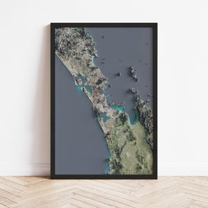 Auckland - Satellite Imagery