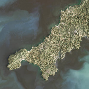 Cornwall - Satellite Imagery