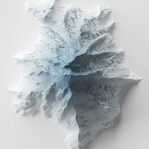 Glacier Peak - Modern Relief Map
