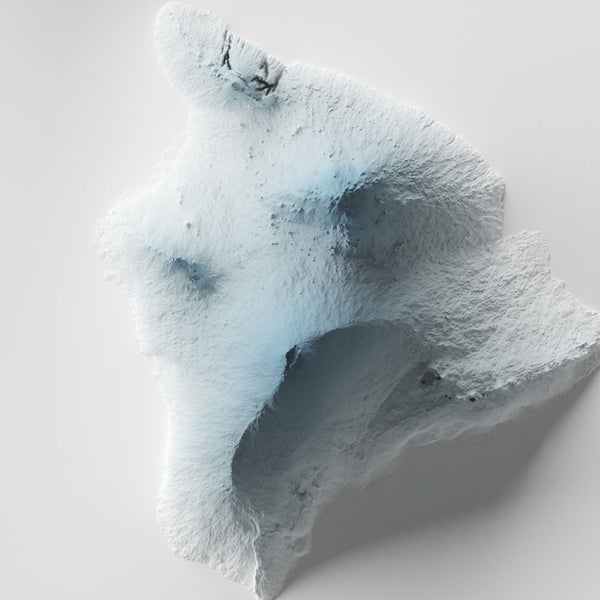 Hawaii - Modern Relief Map