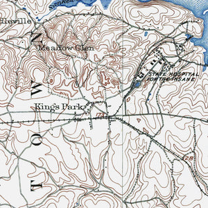 Kings Park, NY - 1903 Topographic Map