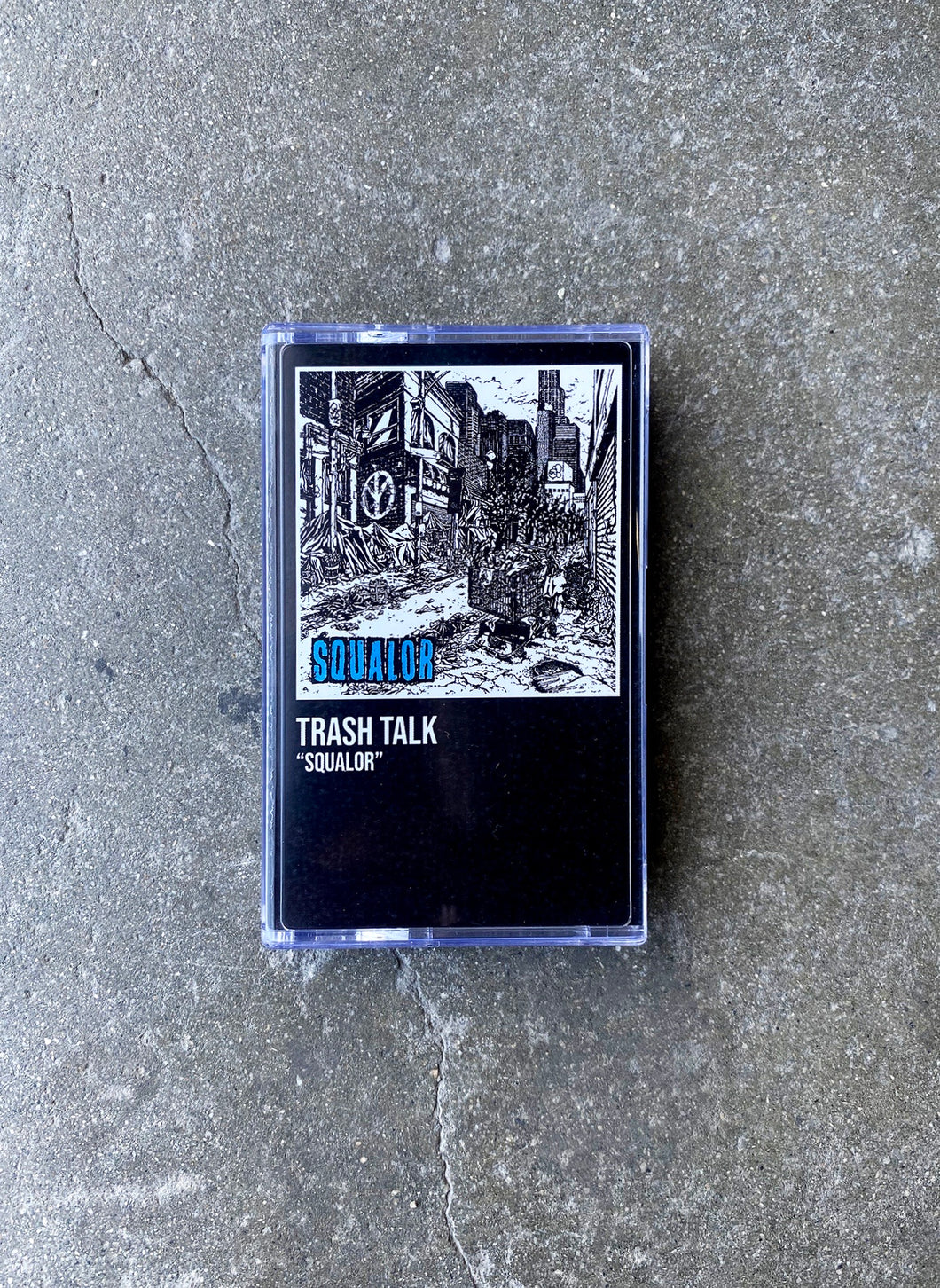 SQUALOR CASSETTE (LIMITED CLEAR BLUE)