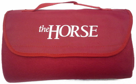 The Horse Fleece Travel Blanket
