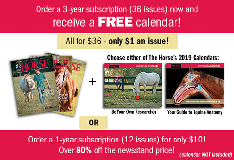The Horse Magazine Subscription - Winter Special