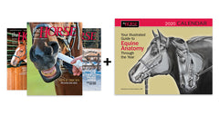 The Horse Magazine Subscription with FREE CALENDAR!