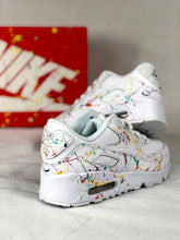 Load image into Gallery viewer, Womens Nike Air Max 90s Splatter