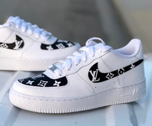 Load image into Gallery viewer, Womens Designer Swoosh & Toe Box Air Force One