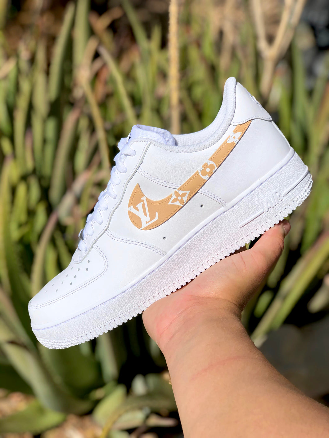 Womens Designer Swoosh Air Force One